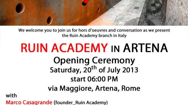 Ruin Academy Artena