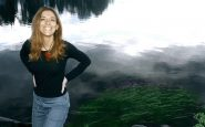 Silvia Colasanti sul lago di Kuhmo CF