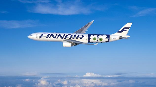 Immagini Finnair Marimekko
