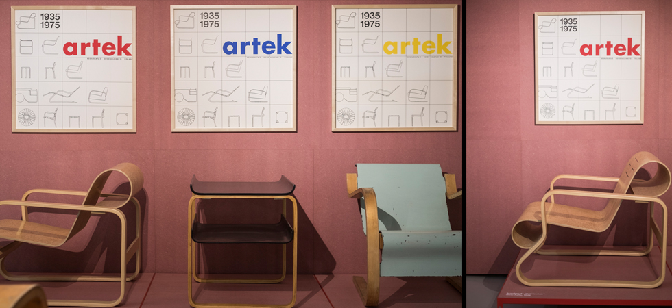 Mostra: Furniture and glass from Aino and Alvar