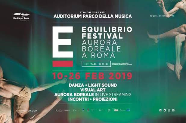 Irene Suosalo, Jacob Kirkegaard e Pukki Visuals all'Equilibrio festival 2019. Aurora boreale a Roma |10 – 26.2.2019