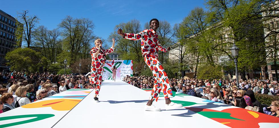 Marimekko Fashion Show a Helsinki