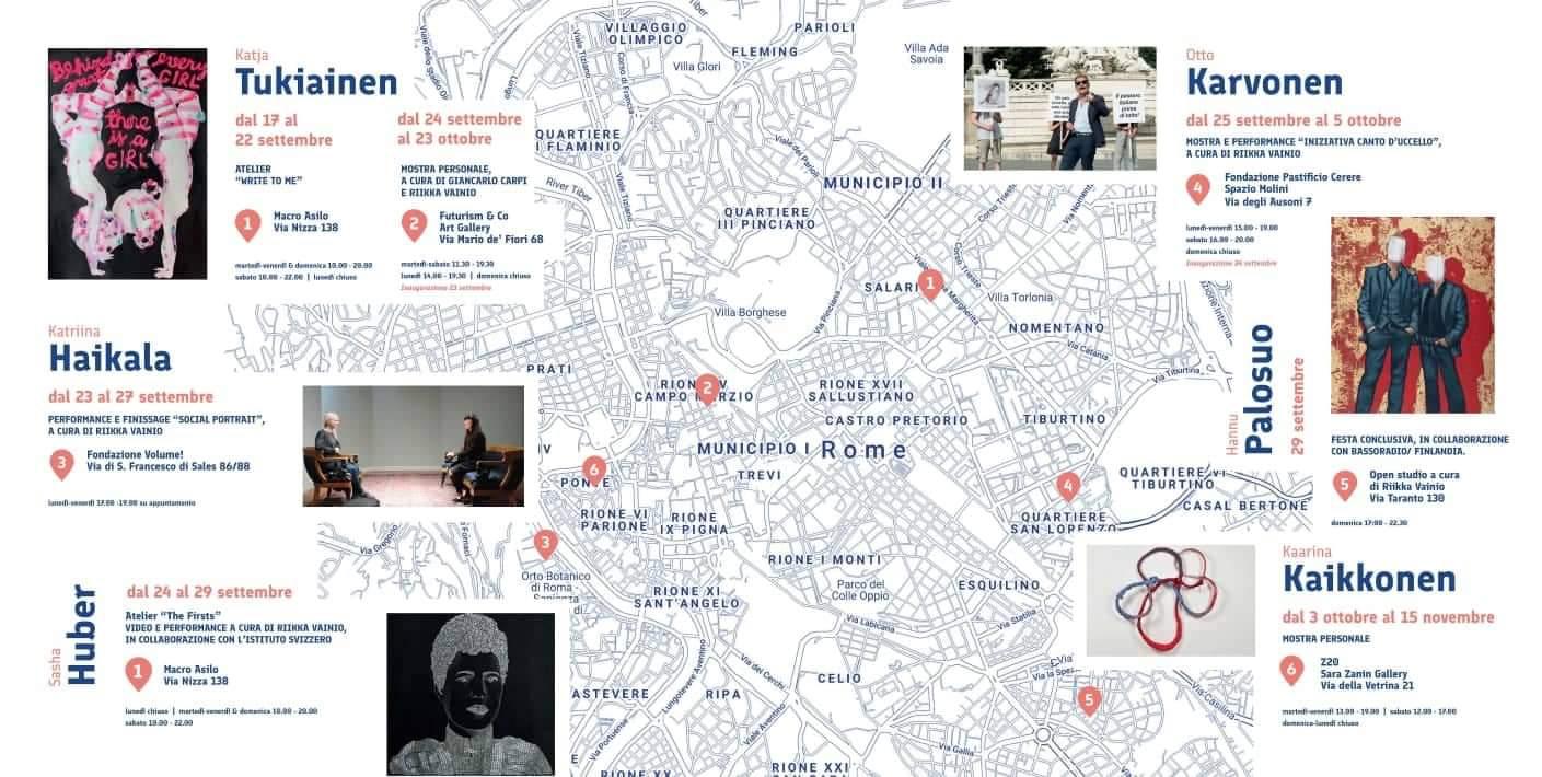 SuomIngorgo. Artisti finlandesi a Roma | 17.9 – 15.11