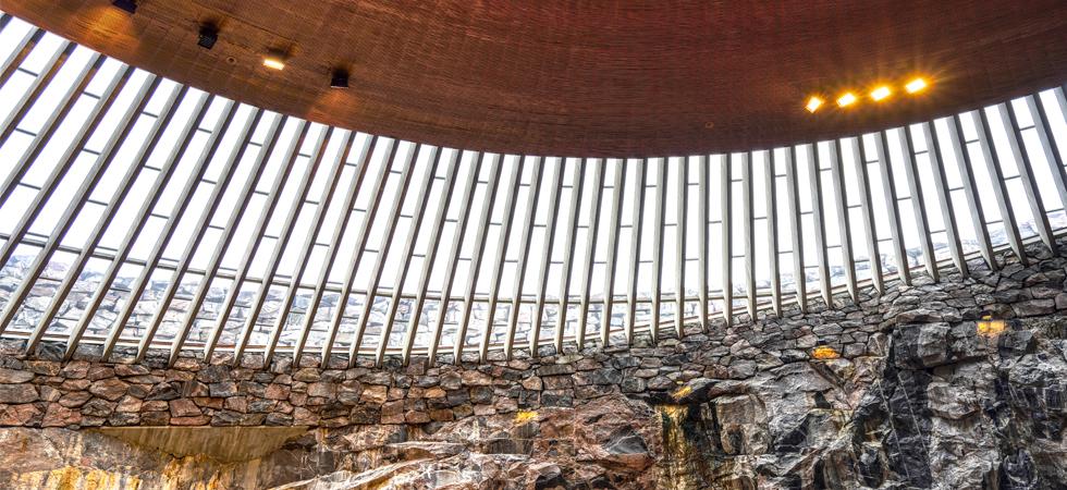 La Chiesa Temppeliaukio di Helsinki celebra 50 anni!