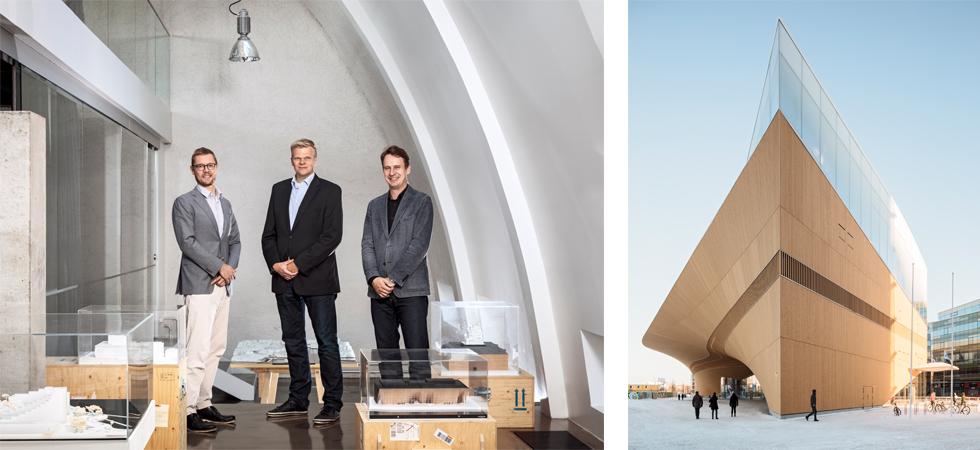 Intervista ad ALA Architects progettisti di Oodi a Helsinki