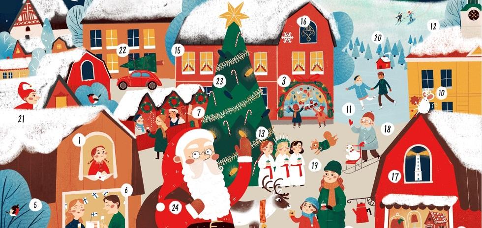 Il calendario di Natale 2019 di Visit Finland!