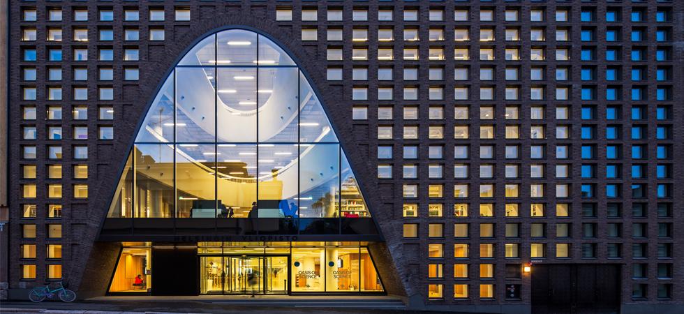 A Helsinki la più grande biblioteca universitaria della Finlandia