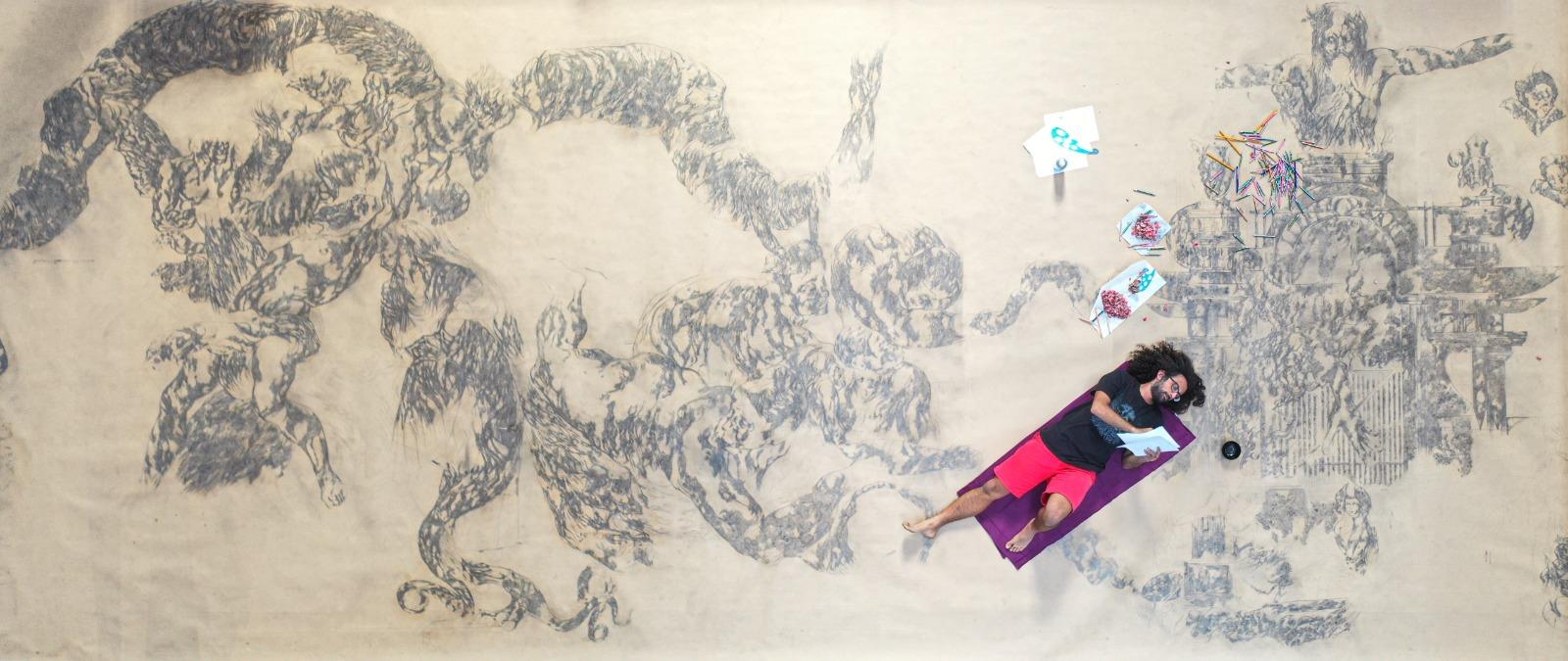 Dante celebrato a Torino con un disegno che parte dalla Finlandia.