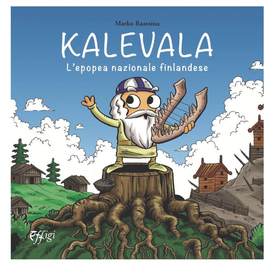 Presentazione del libro Il Kalevala a fumetti di Marko Raassina