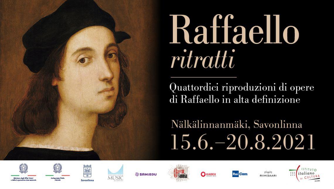 I ritratti di Raffaello (riprodotti) a Savonlinna